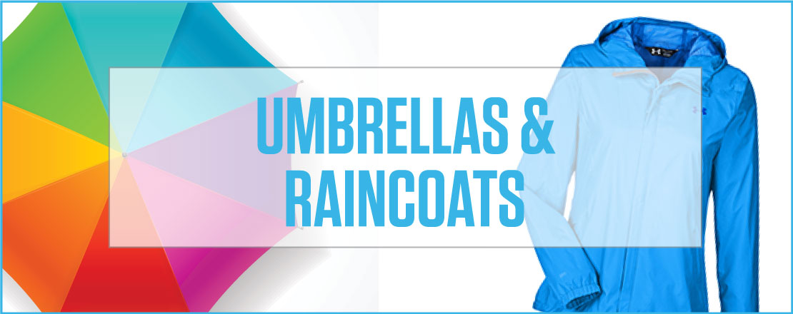 Umbrellas/Raincoats
